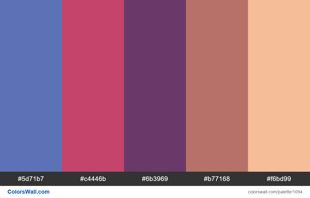 #colorswall random #575 colors palette - #1094