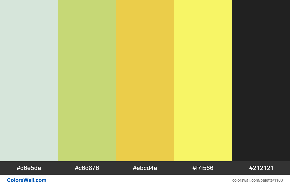 #colorswall random #580 colors palette - #1100