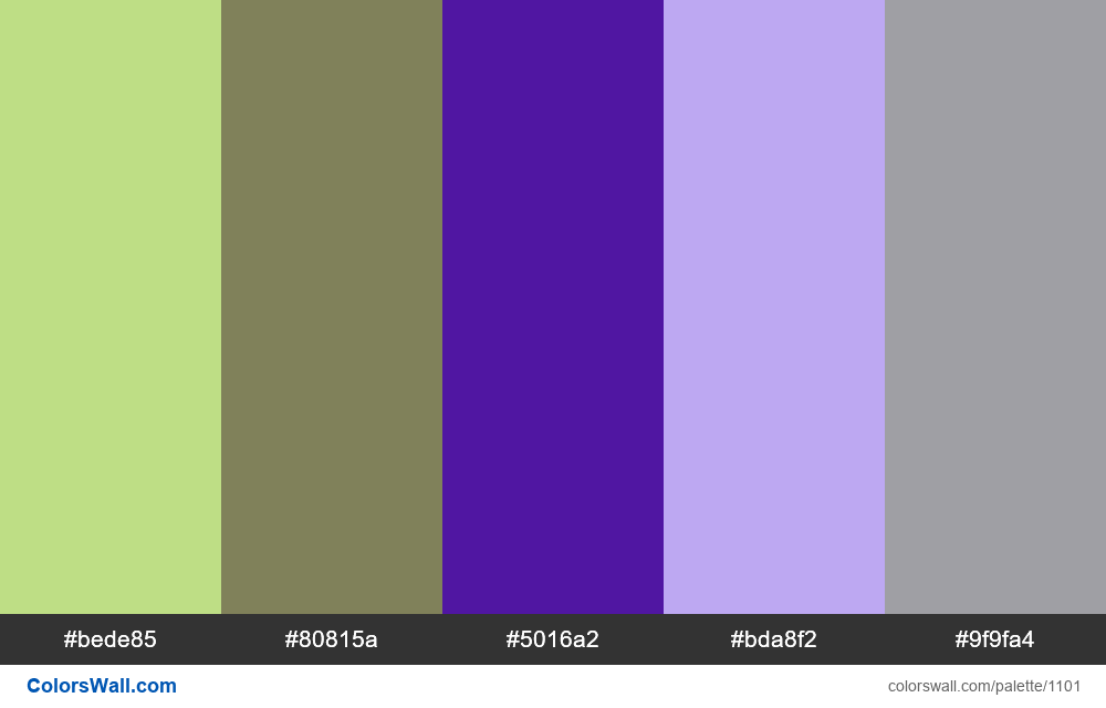 #colorswall random #581 colors palette - #1101