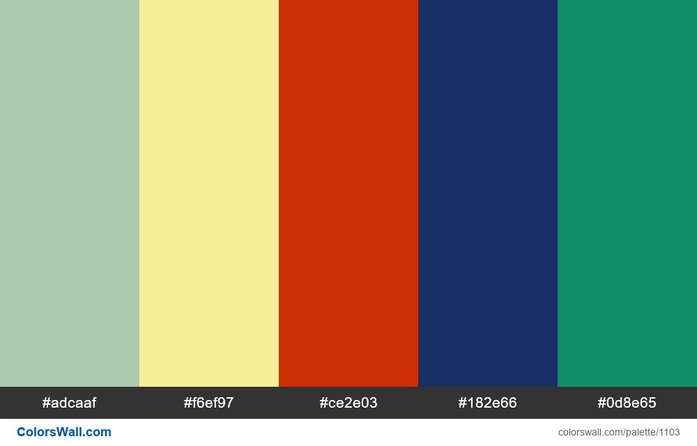 #colorswall random #583 colors palette - #1103