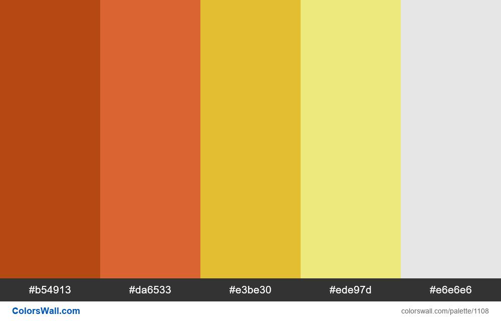 #colorswall random #588 colors palette - #1108