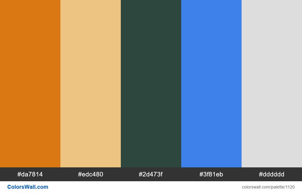 #colorswall random #600 colors palette - #1120