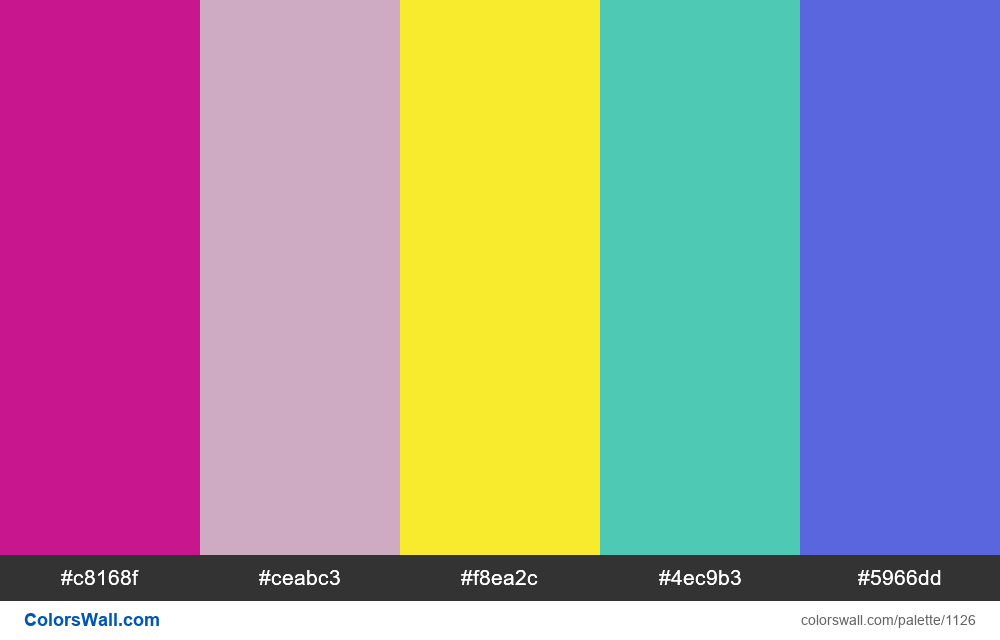 #colorswall random #606 colors palette - #1126
