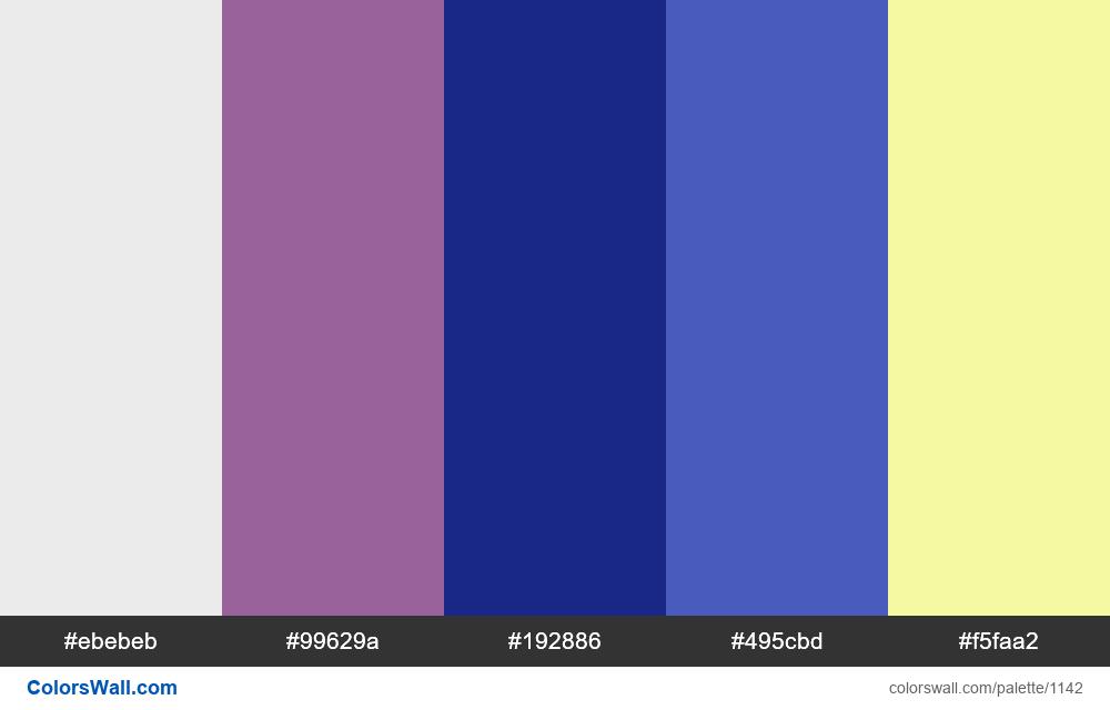 #colorswall random #623 colors palette - #1142