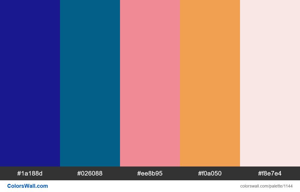#colorswall random #625 colors palette - #1144