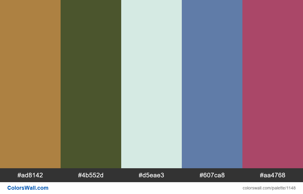 #colorswall random #629 colors palette - #1148