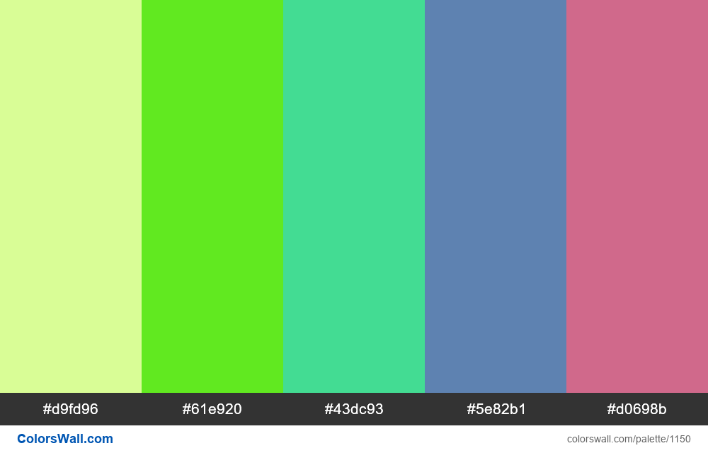 #colorswall random #631 colors palette - #1150
