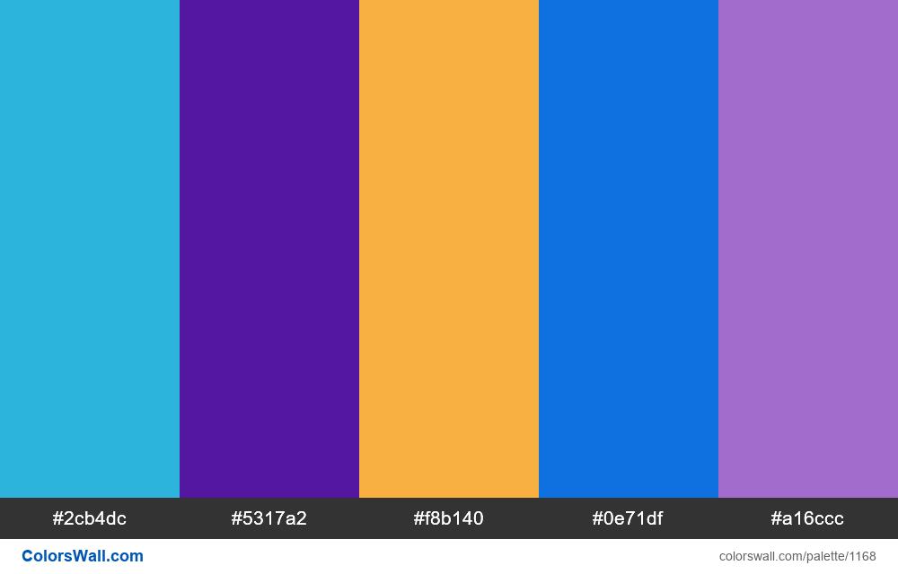 #colorswall random #646 colors palette - #1168
