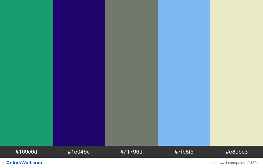 #colorswall random #647 colors palette - #1169