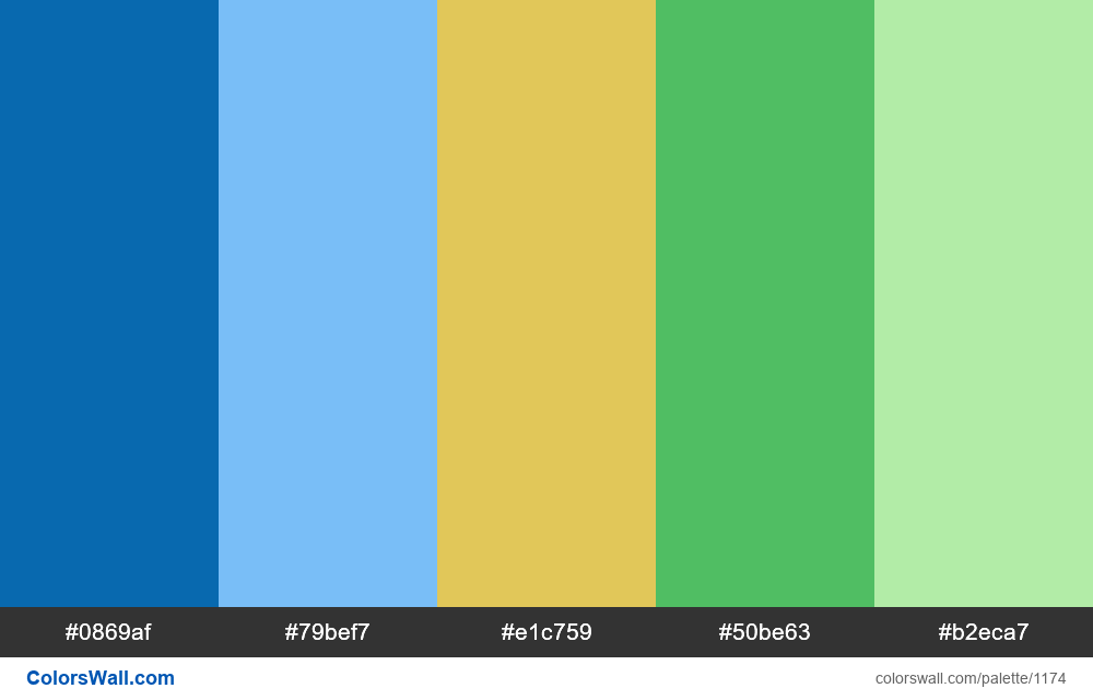 #colorswall random #652 colors palette - #1174