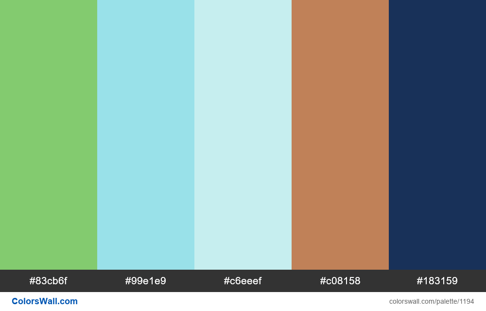 #colorswall random #669 colors palette - #1194
