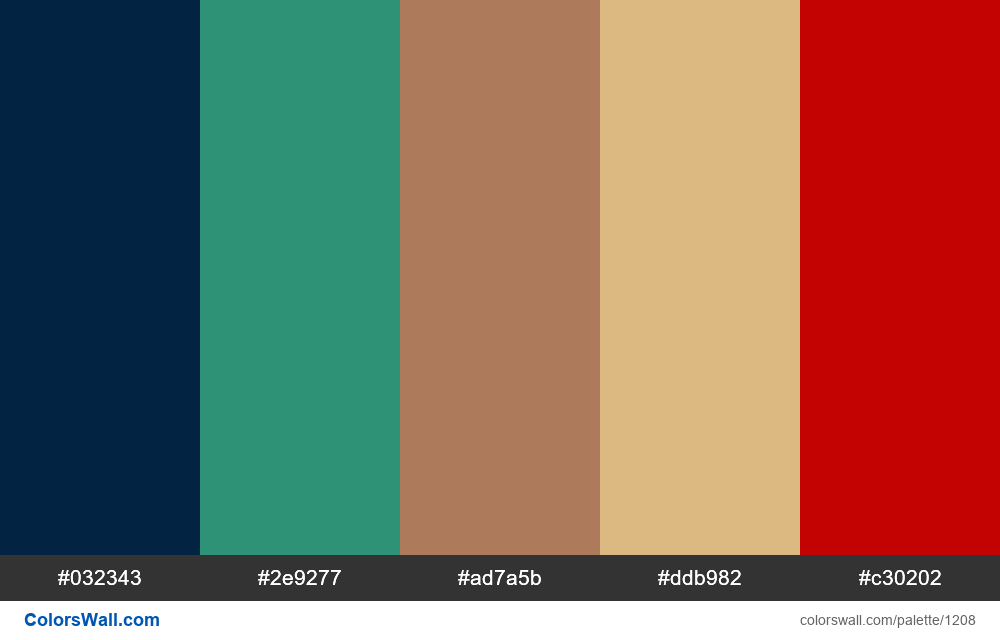 #colorswall random #682 colors palette - #1208