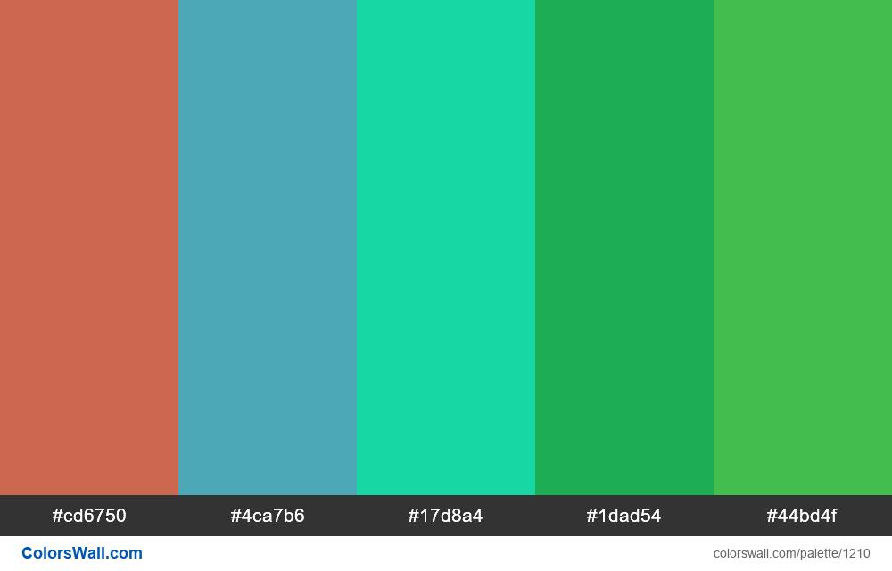 #colorswall random #684 colors palette - #1210