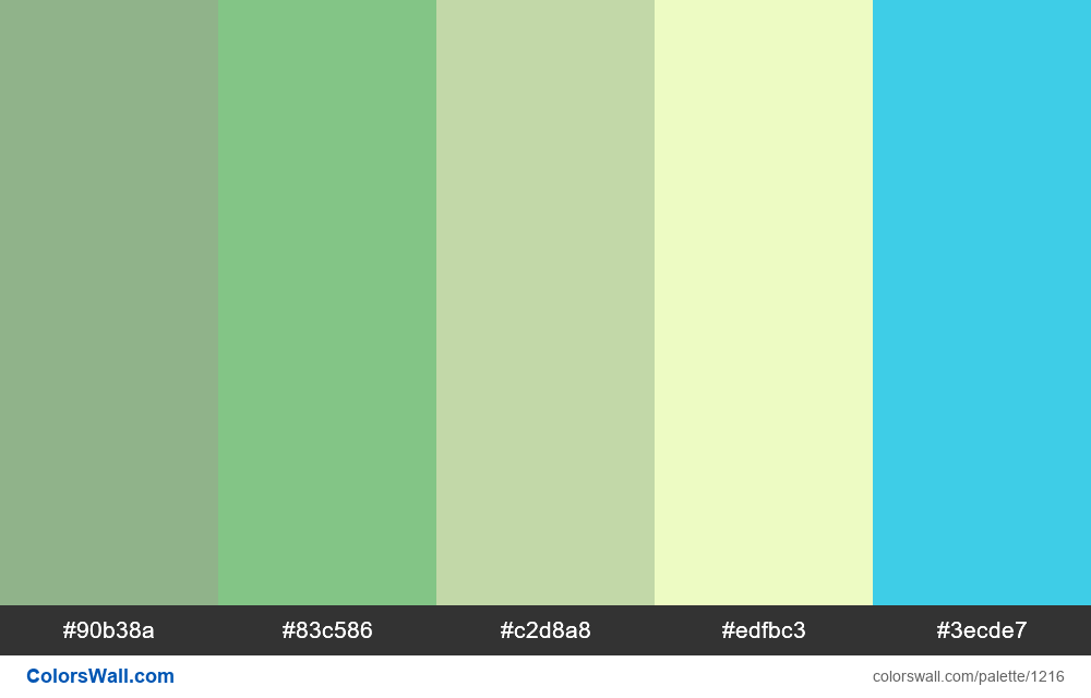 #colorswall random #690 colors palette - #1216