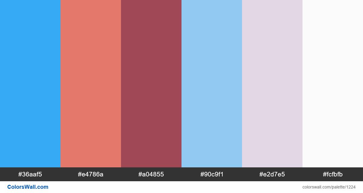 #colorswall random #697 colors palette - #1224