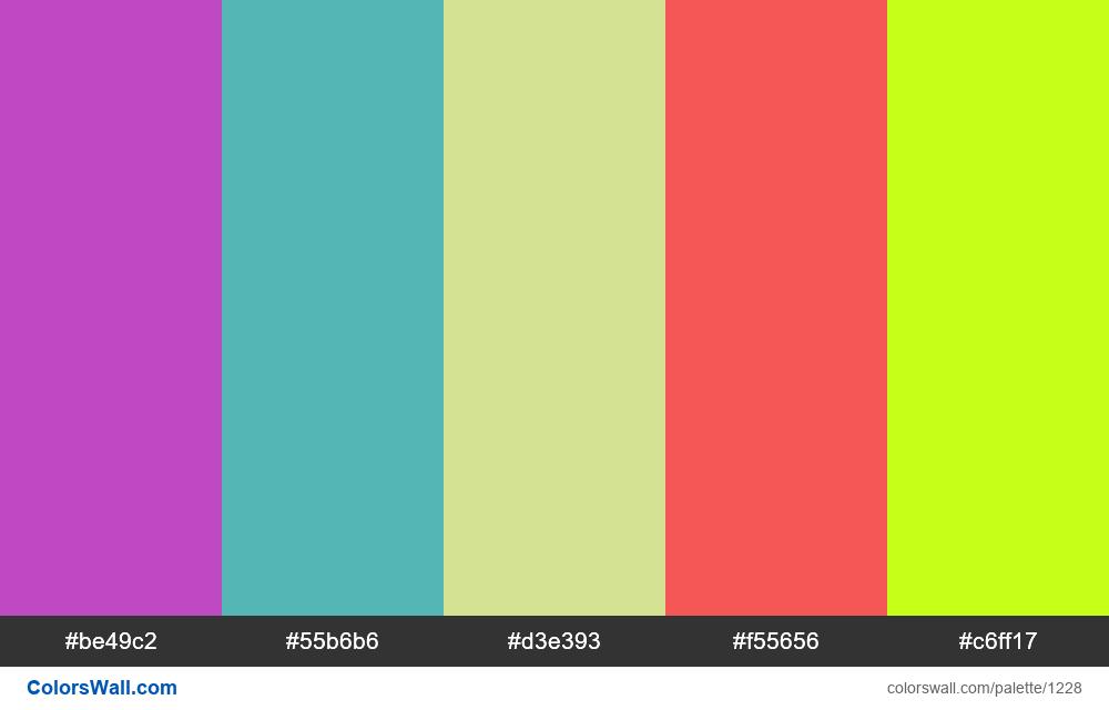 #colorswall random #701 colors palette - #1228