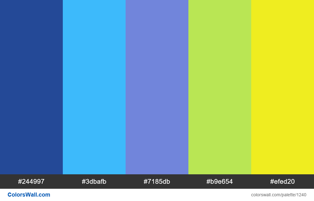 #colorswall random #713 colors palette - #1240