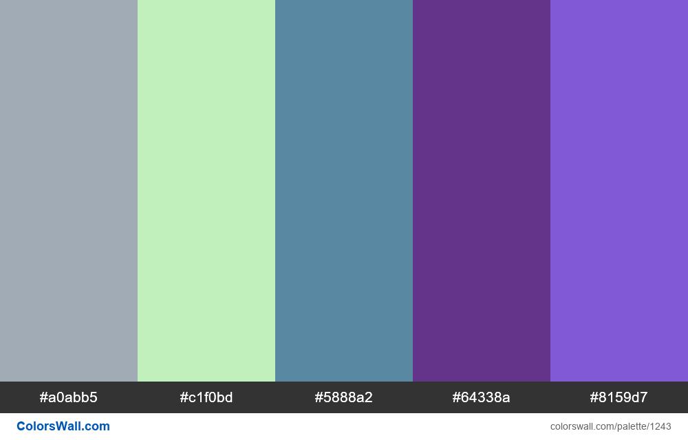 #colorswall random #716 colors palette - #1243