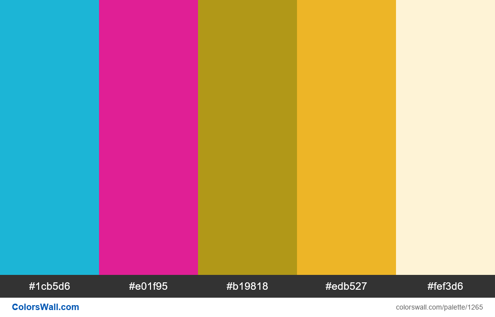 #colorswall random #722 colors palette - #1265