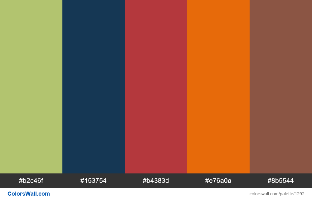 #colorswall random #726 colors palette - #1292