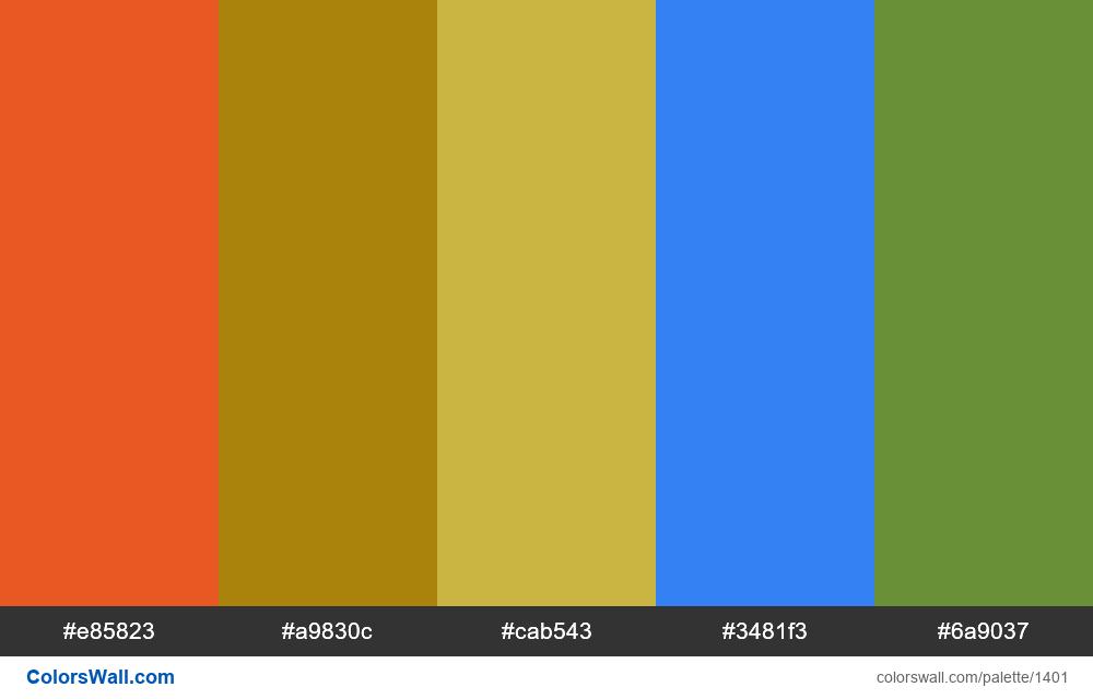 #colorswall random #743 colors palette - #1401