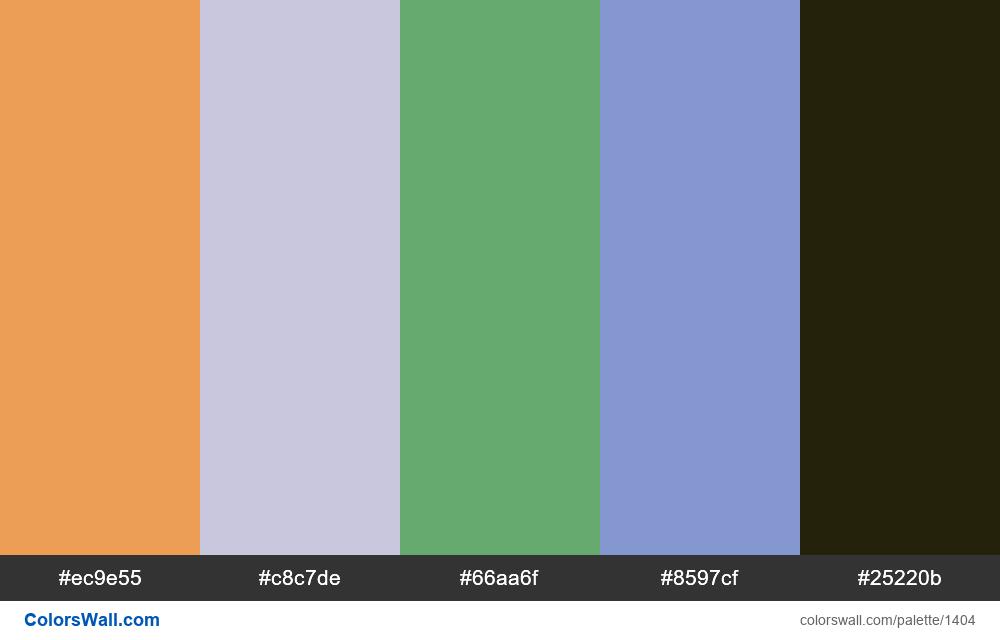 #colorswall random #745 colors palette - #1404
