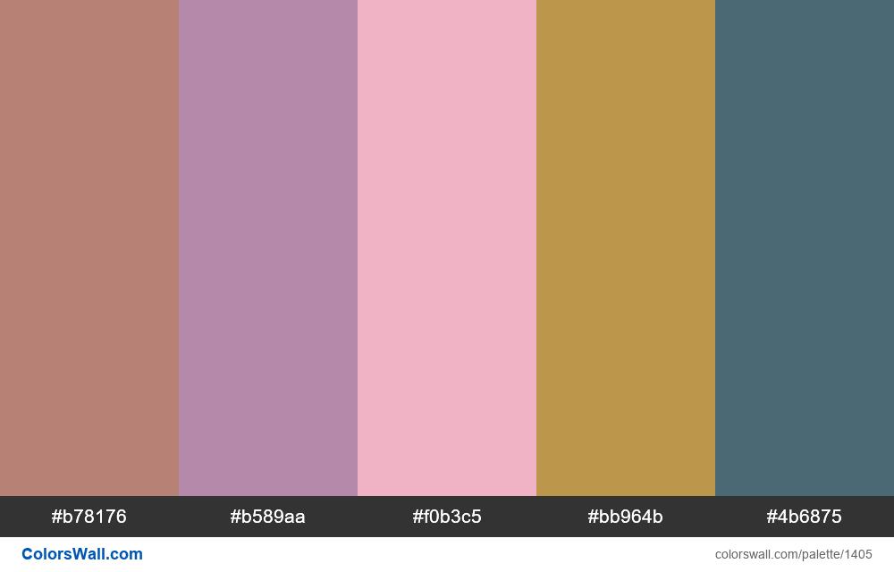 #colorswall random #746 colors palette - #1405