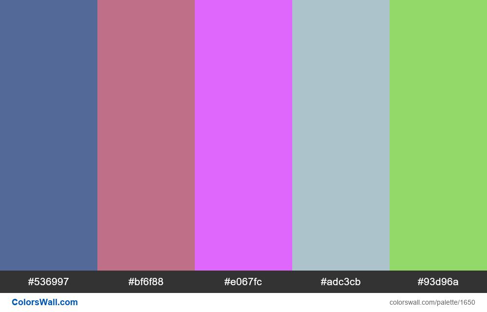 #colorswall random #894 - #1650
