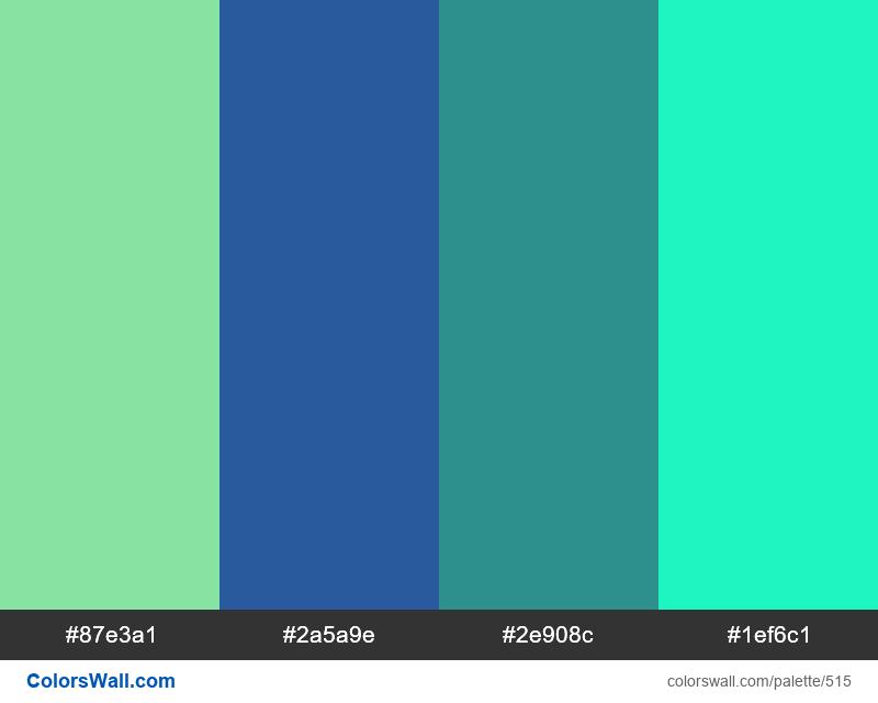#colorswall random #95 colors palette - #515