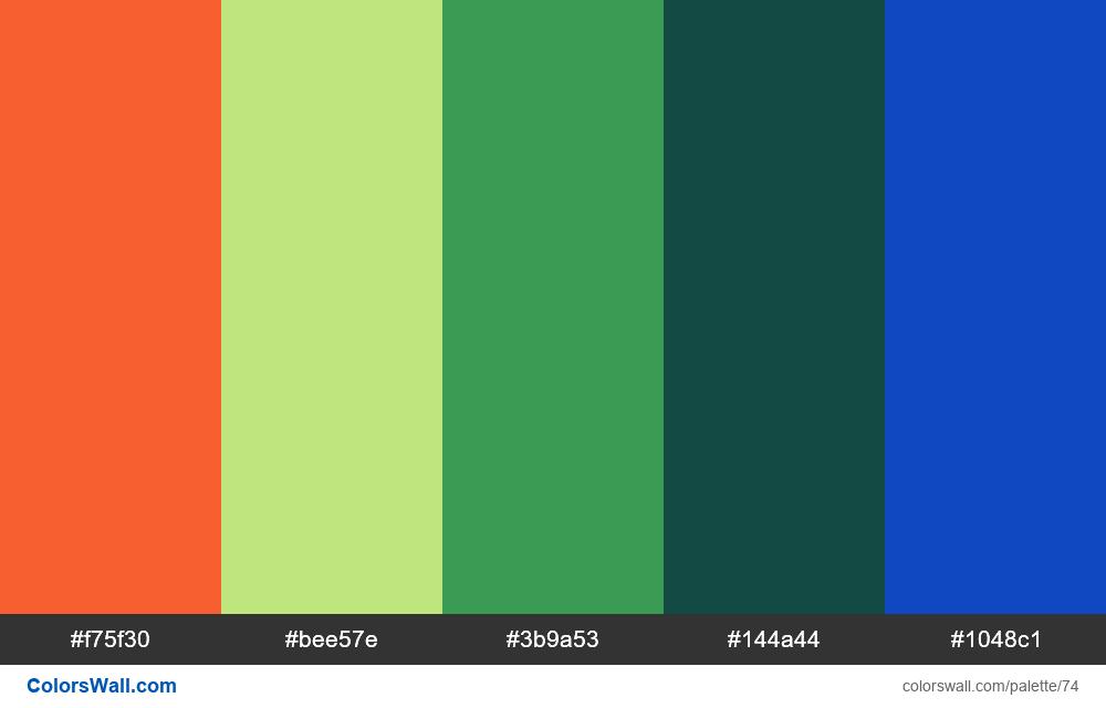 Cool Random Palette #1 - #74