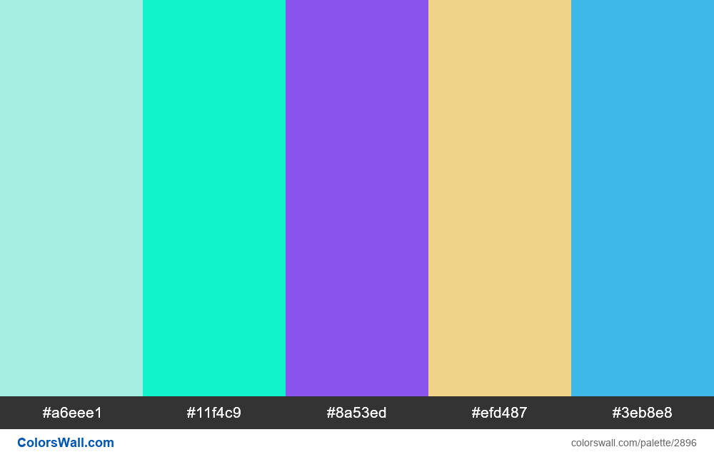 Daily colors palette #101 - #2896