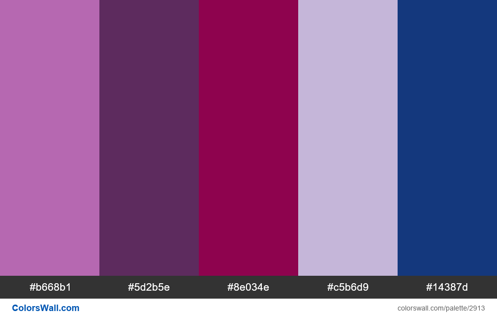 Daily colors palette #109 - #2913