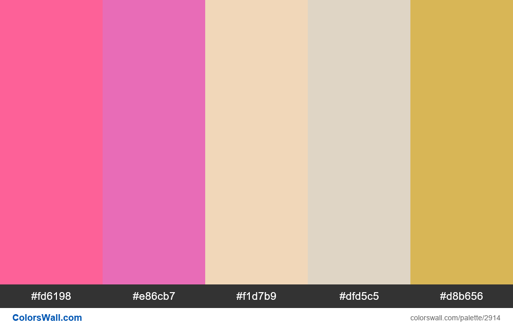 Daily colors palette #110 - #2914