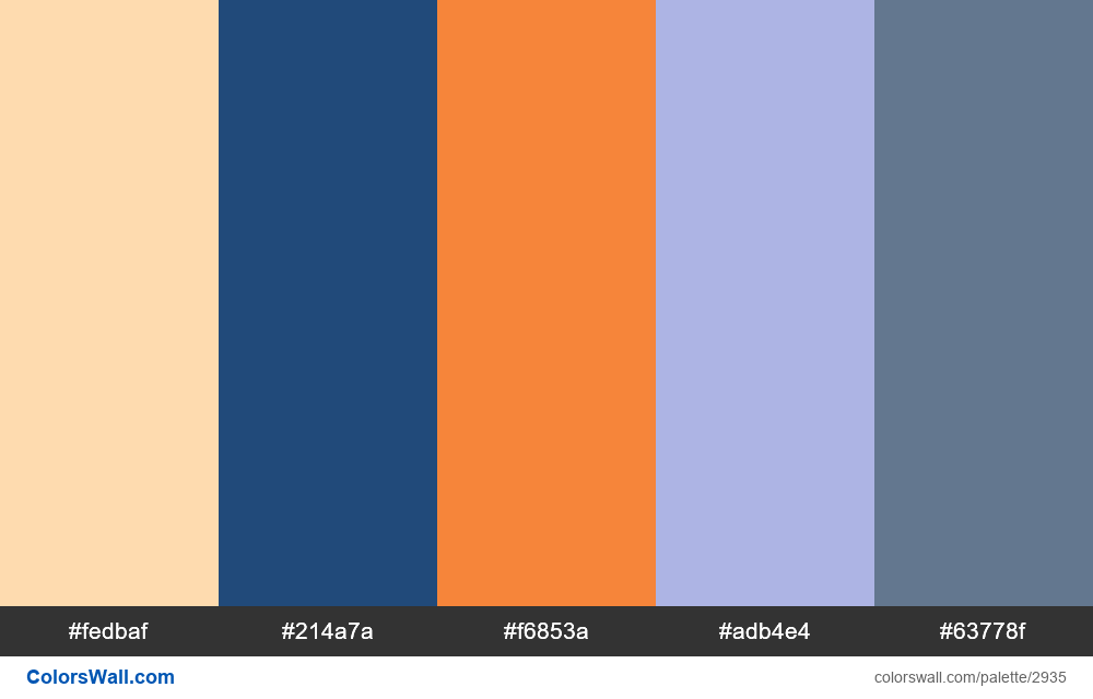 Daily colors palette #128 - #2935