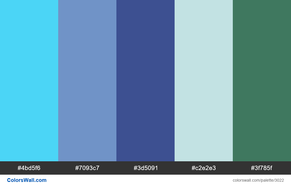 Daily colors palette #176 - #3022