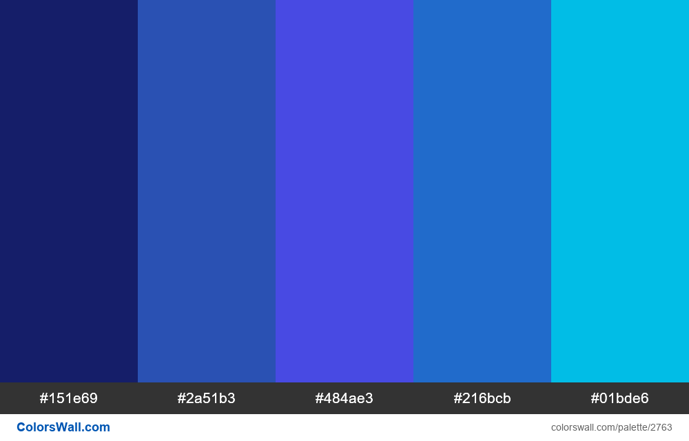Daily colors palette #18 - #2763