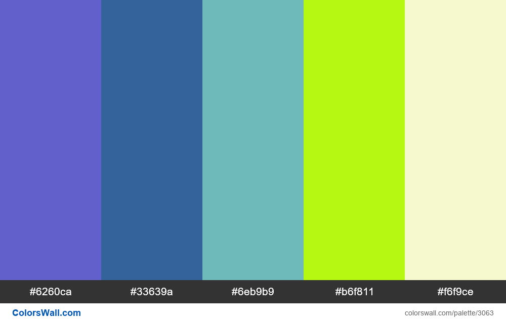 Daily colors palette #192 - #3063