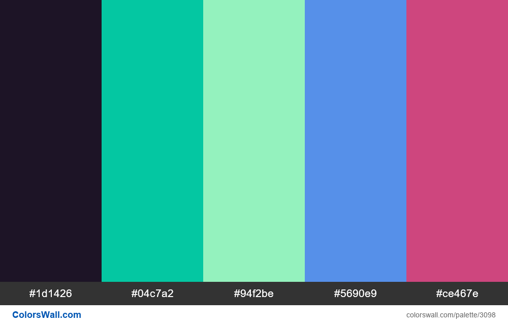 Daily colors palette #220 - #3098