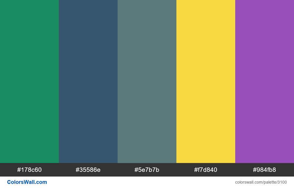 Daily colors palette #222 - #3100