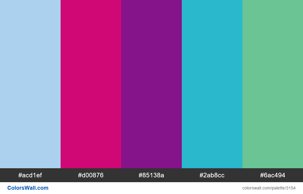 Daily colors palette #245 - #3154