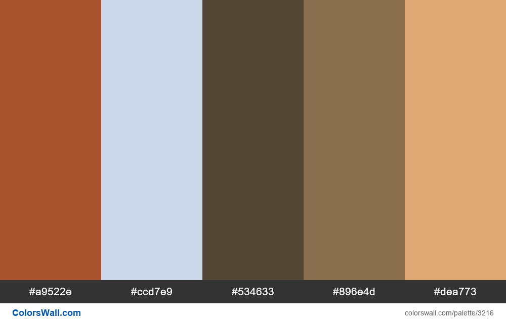 Daily colors palette #284 - #3216