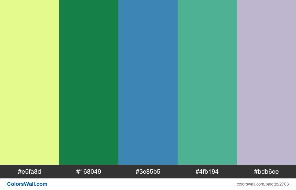 Daily colors palette #32 - #2783