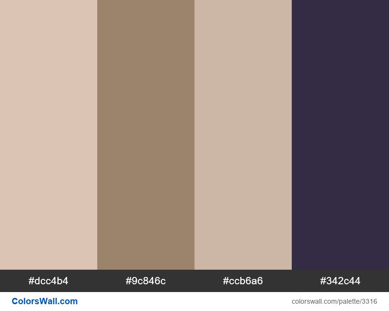 Daily colors palette 328 - #3316