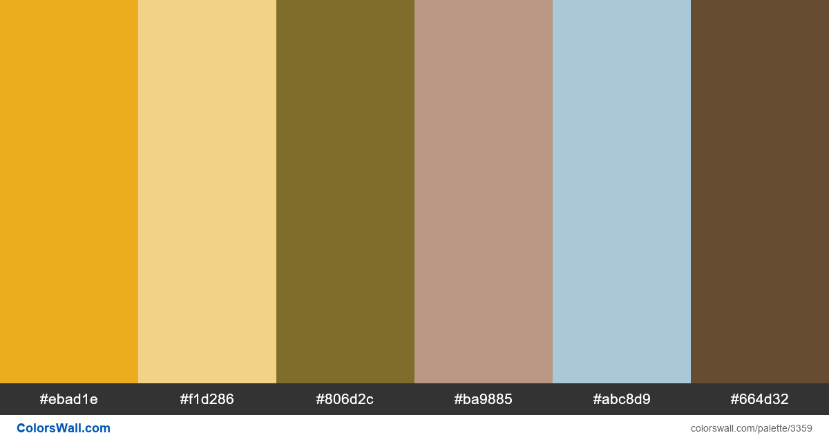 Daily colors palette 365 - #3359