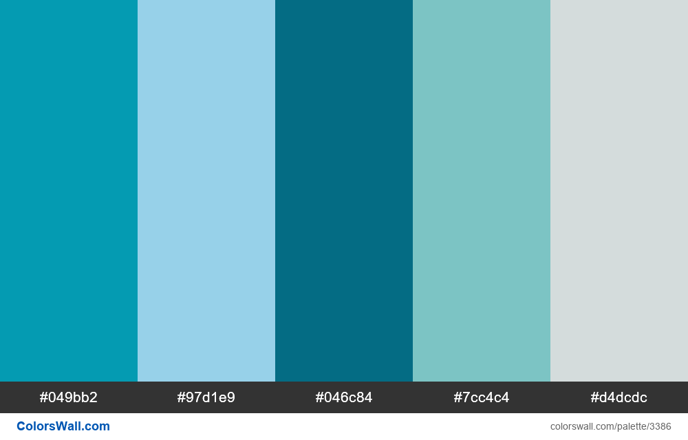 Daily colors palette 392 - #3386