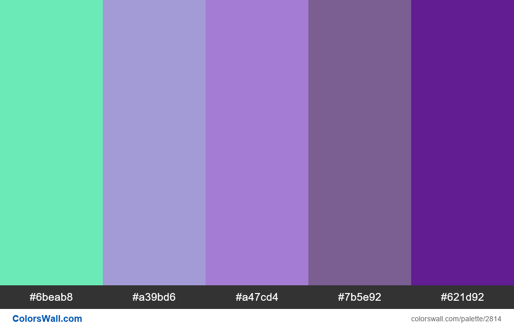Daily colors palette #58 - #2814