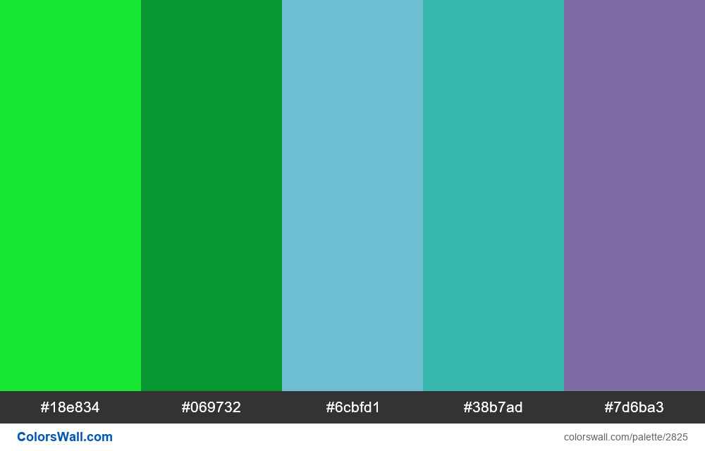 Daily colors palette #68 - #2825