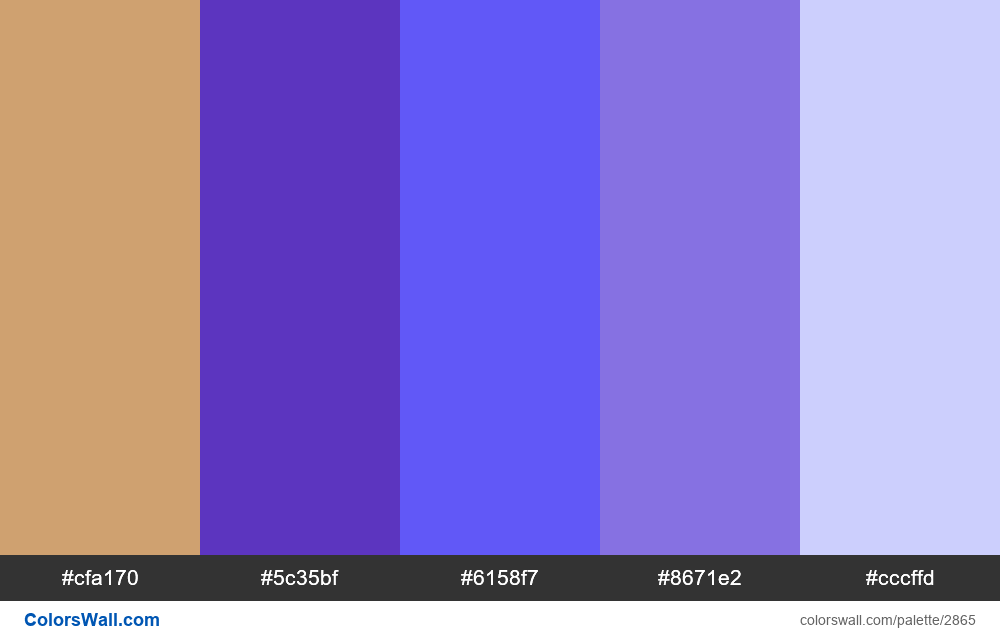 Daily colors palette #88 - #2865