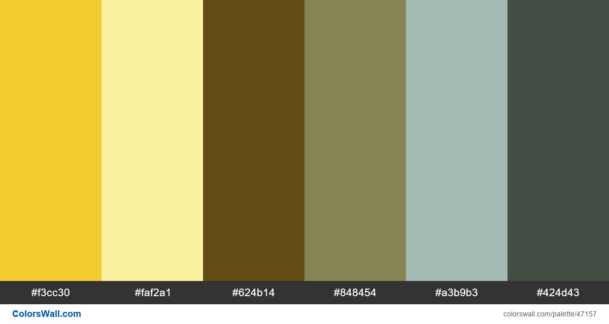 Dark digital ui design palette - #47157