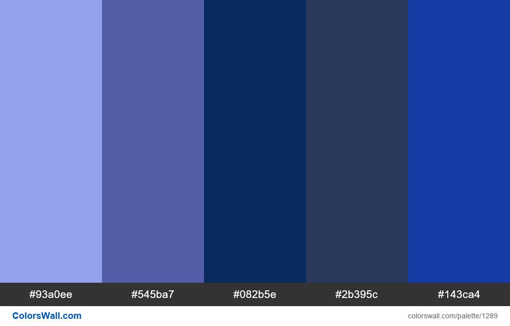 Dark Sky colors palette - #1289